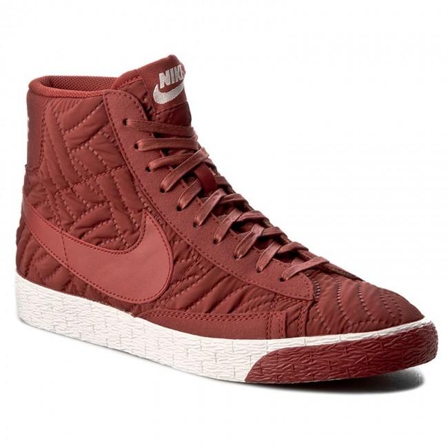 Nike Blazer bordowe