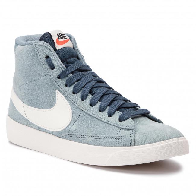 Nike Blazer czerwone błękitne