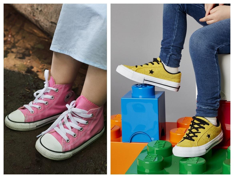 Dziecięce trampki marki Converse