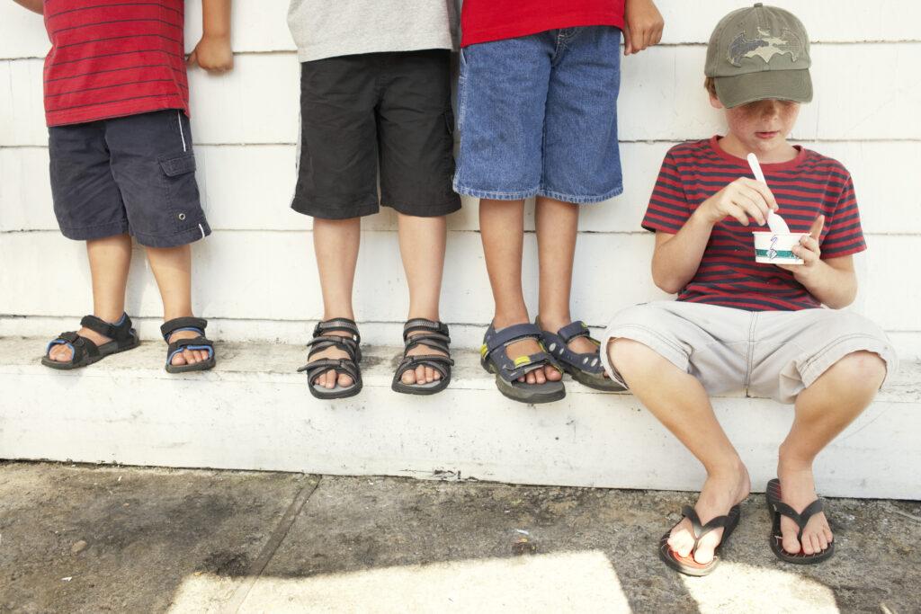 Sandały dziecięce jak dobrać
