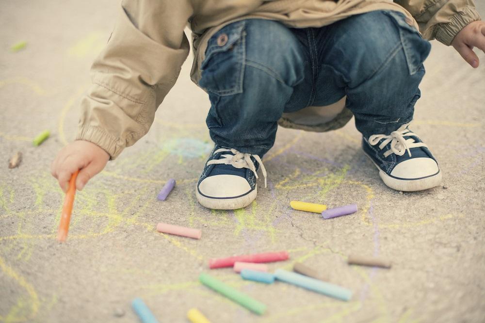 dziecięce buty marki Converse