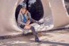 Kozaki za kolano i wiosenna stylizacja