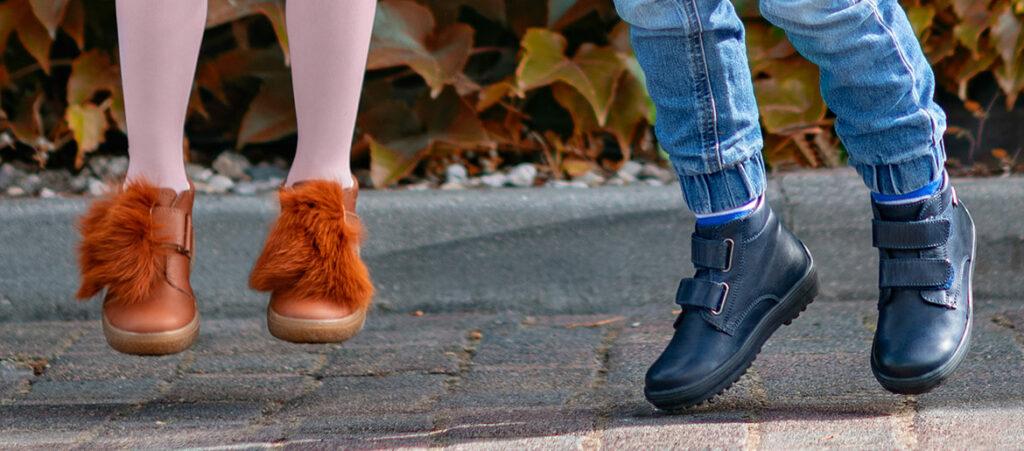 Dziecięce buty na jesień