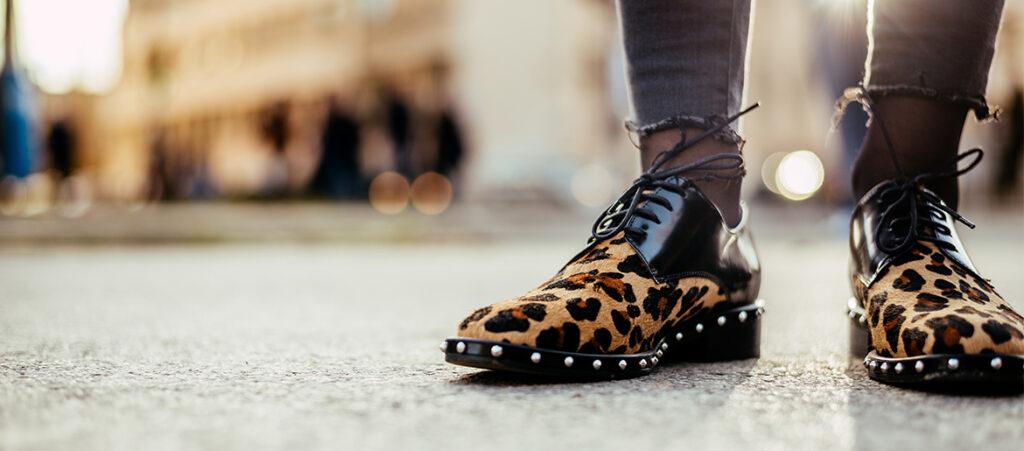 Buty w zwierzęce wzory