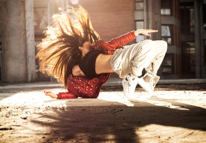 taniec uliczny