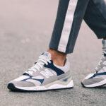Sneakersy męskie New Balance szare