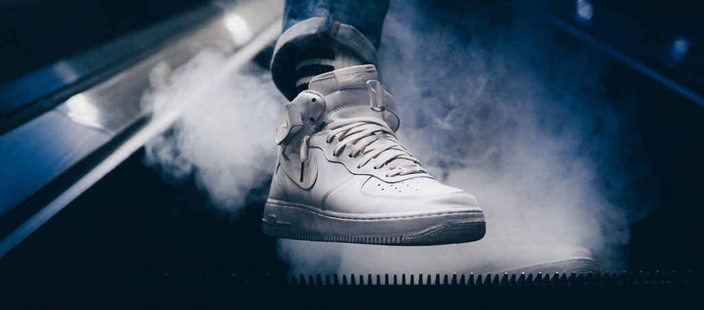 białe Nike Air Force 1