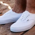 Białe buty Vans Authentic