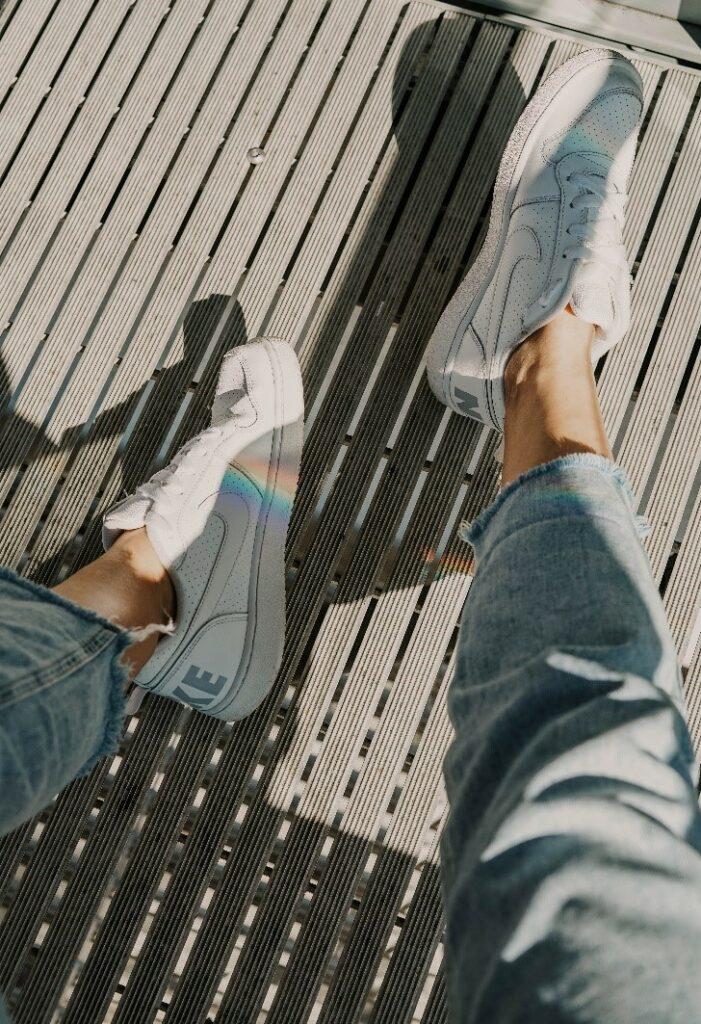 Buty Nike nawiązujące do skate style