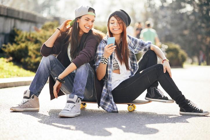 Skate style - luźno lub na rockowo