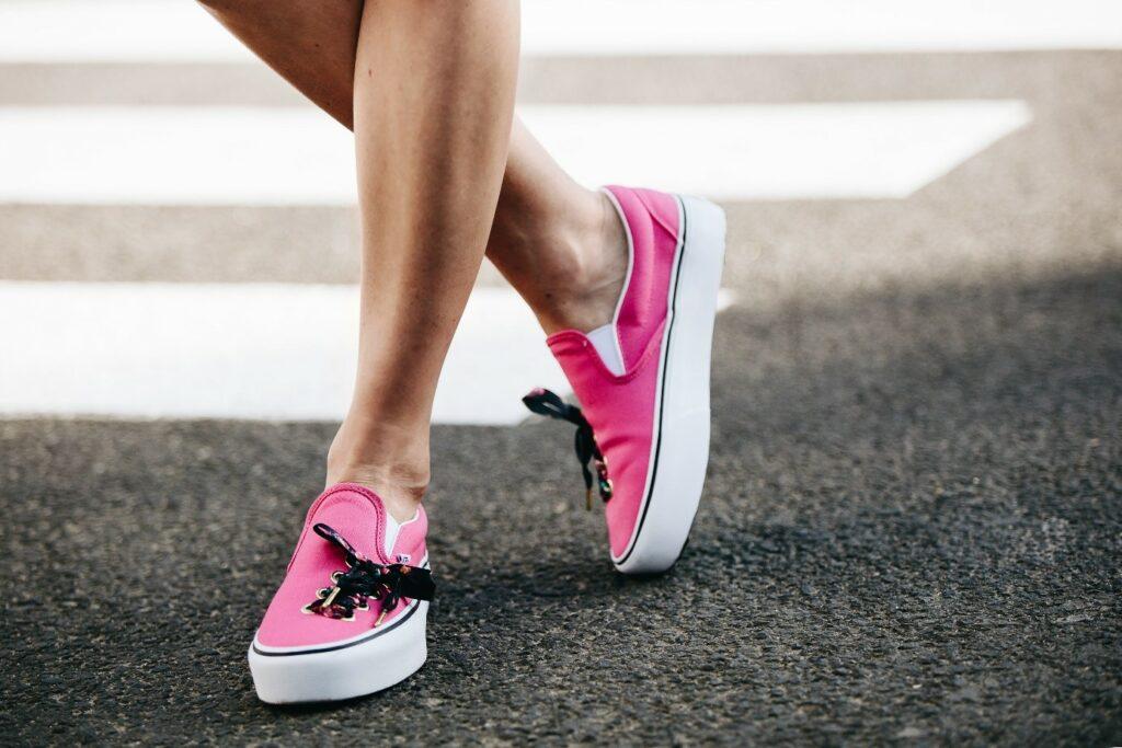 Vans Slip-on różowe