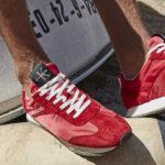 czerwone buty męskie