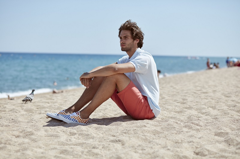tenisówki na plażę