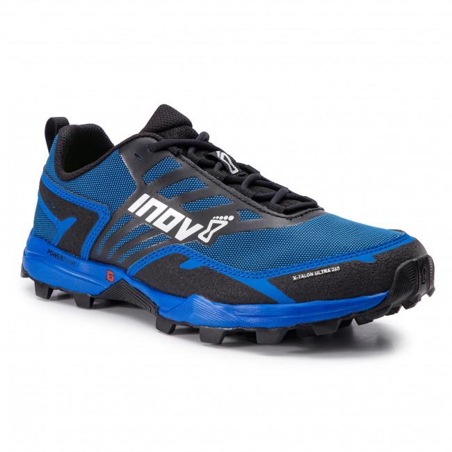buty męskie do biegania inov 8 x talon ultra 260 czarno-niebieskie