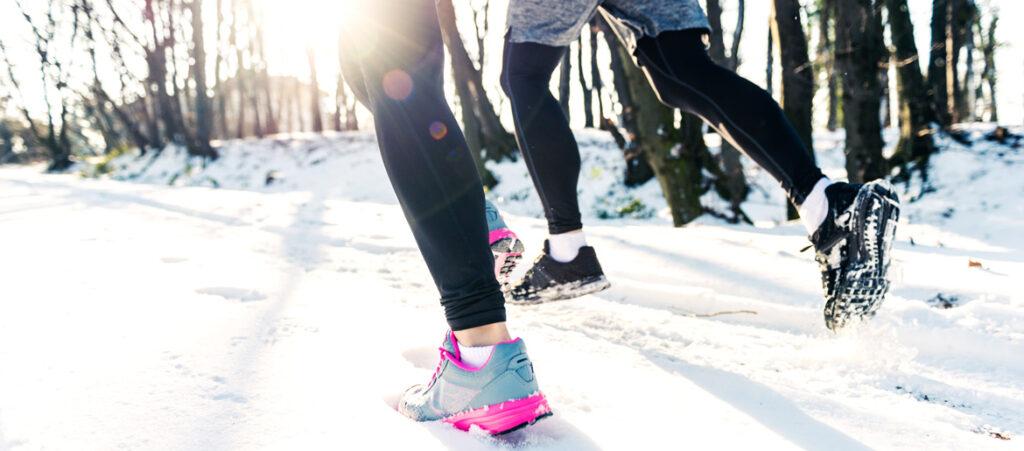 jakie buty do biegania zimą
