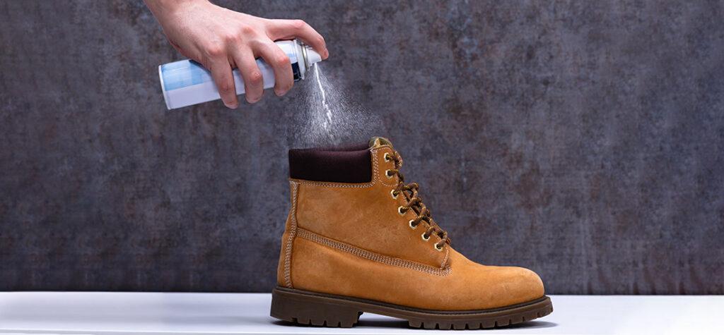odkażanie buta