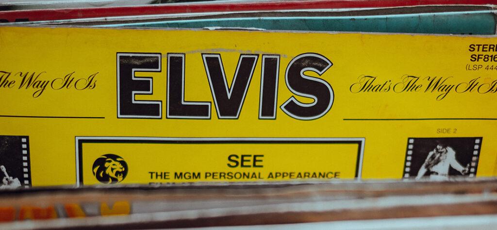 okładka płyty winylowej Elvisa Presleya