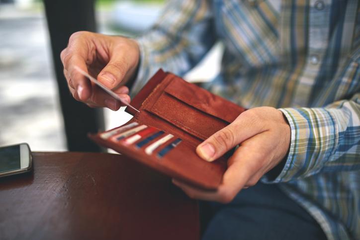 portfel męski skórzany brązowy
