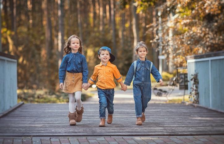 dziecięce buty za kostkę - śniegowce dziewczęce trzewiki chłopięce