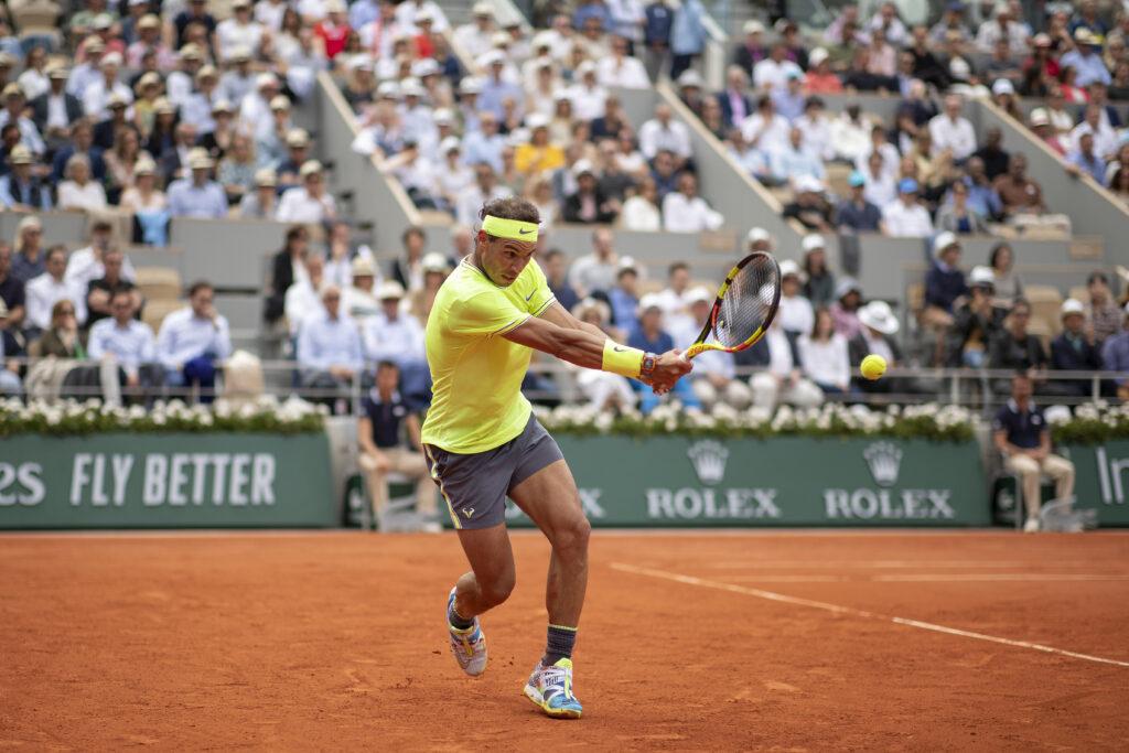 Rafael Nadal na French Open 2019