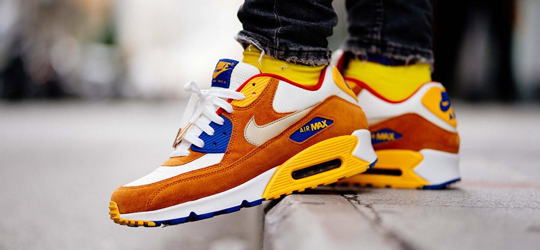 Nike air max na nogach