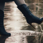 kozaki podczas deszczu