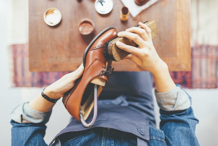 pielęgnacja obuwia skórzanego