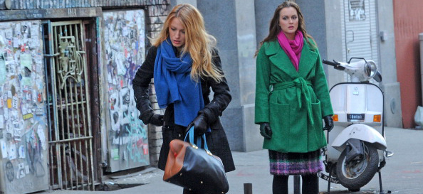 Serena i Blair w serialu Plotkara
