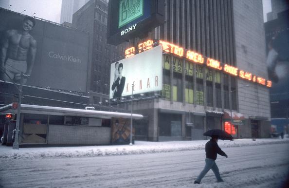 Marky Mark - Calvin Klein Billboard w Nowym Jorku/Allan Tannenbaum via Getty Images)