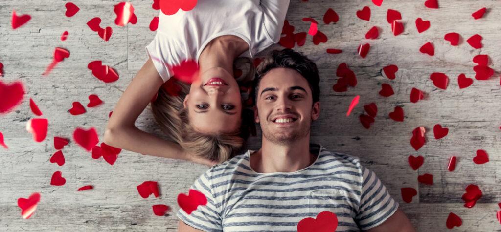 Zdjęcie zakochanej pary