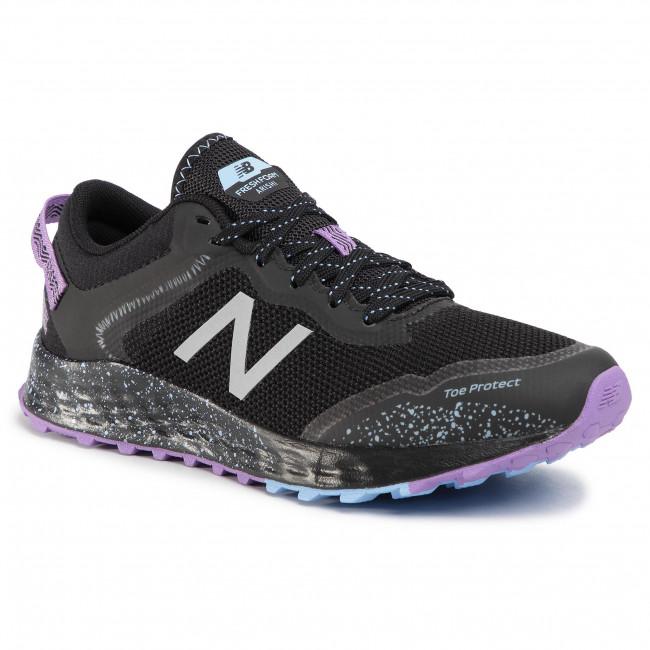 buty damskie do biegania New Balance WTARISK1 czarno-fioletowe