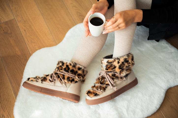 śniegowce damskie inuikii sneaker rabbit jaguar wild na nogach
