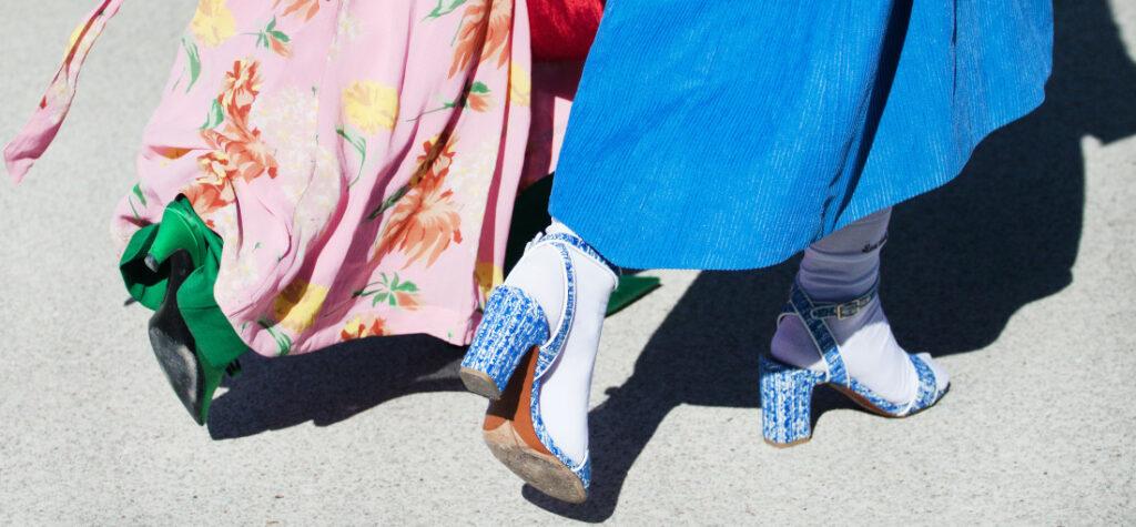 Buty na ulicy