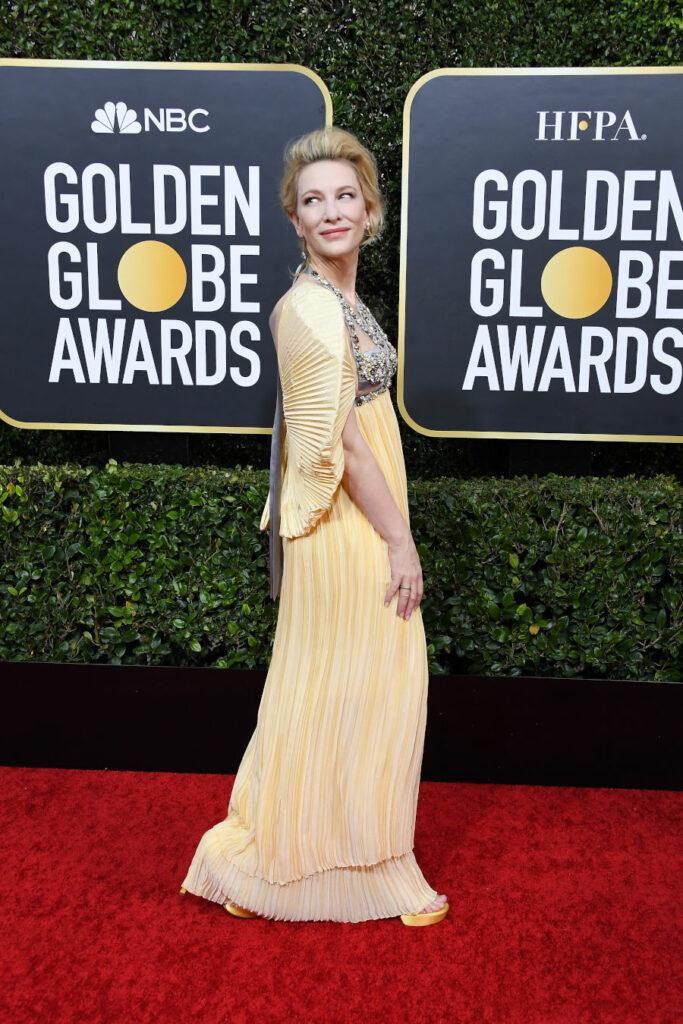 Cate Blanchett na gali Złotych Globów 2020
