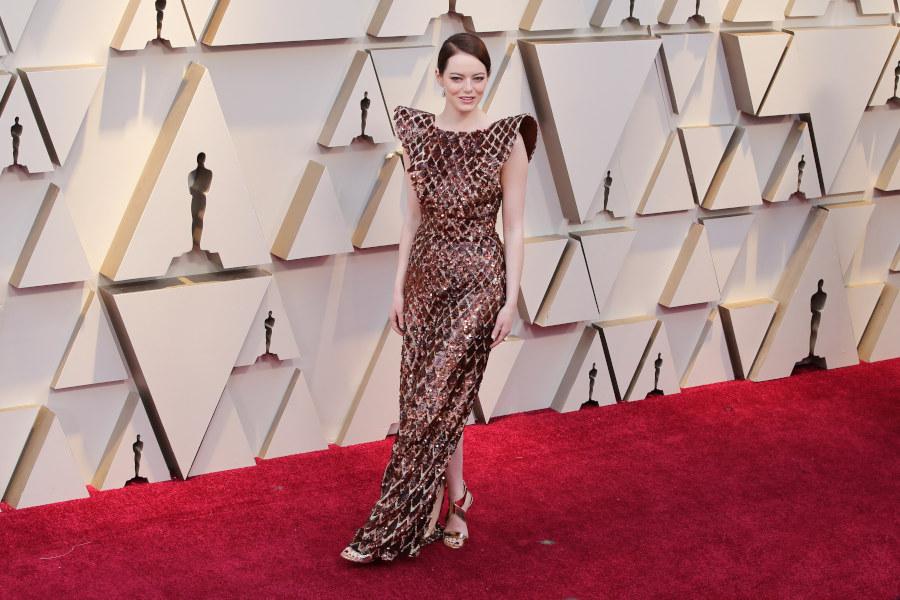 Emma Stone na Oscarach 2019