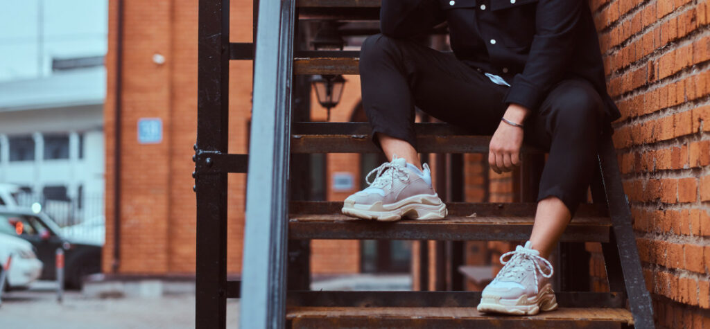 sneakersy męskie w stylu ugry shows