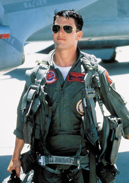 Tom Cruise w Top Gun