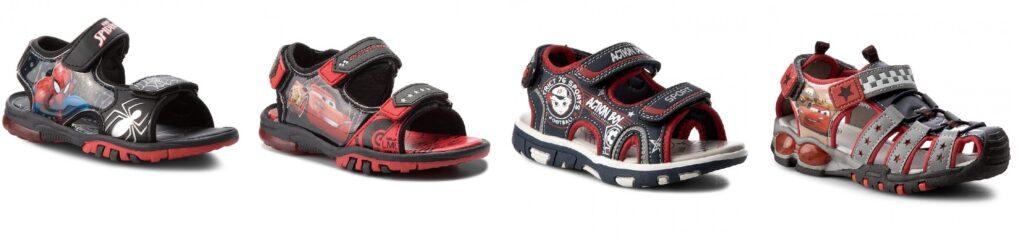 tanie sandały dla chłopca