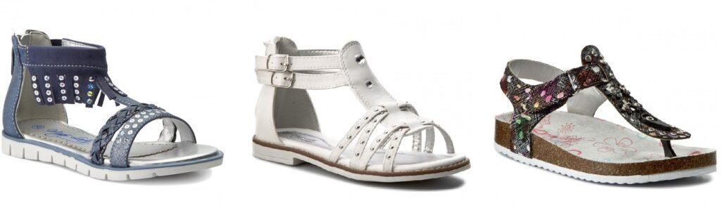 sandały dla dziewczynki magic lady