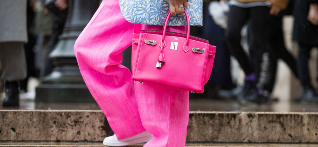 rozowa shopperka hermes