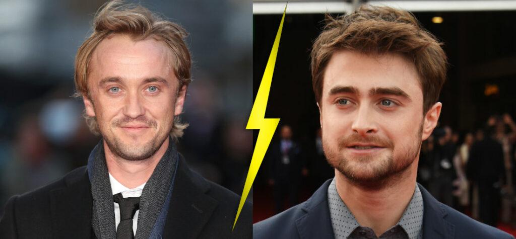 Tom Felton i Daniel Radcliffe