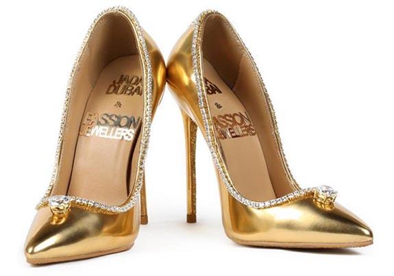 Passion Diamond Jada Dubai - buty warte ponad 62 miliony złotych. fot. Jada Dubai