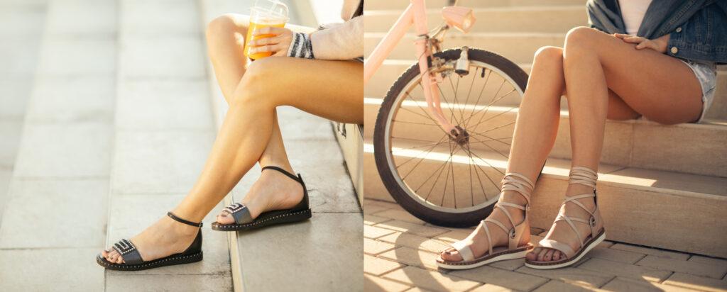 Sandały damskie i rzymianki