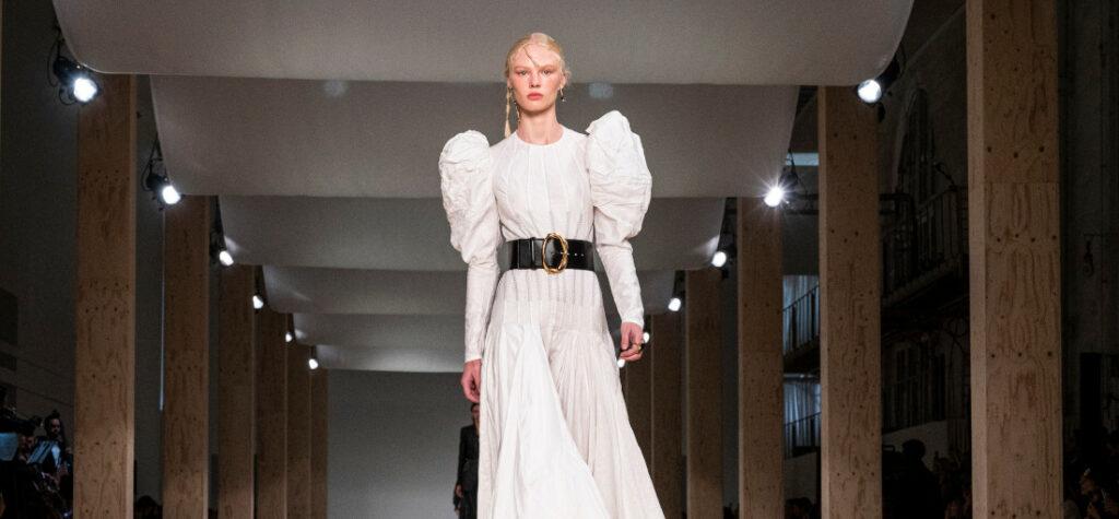 pokaz mody Alexandre McQueen