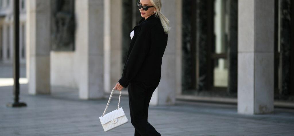 biała torebka chanel