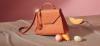 brązowa torebka kuferek