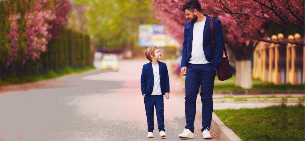 te same buty dla rodzica i dziecka