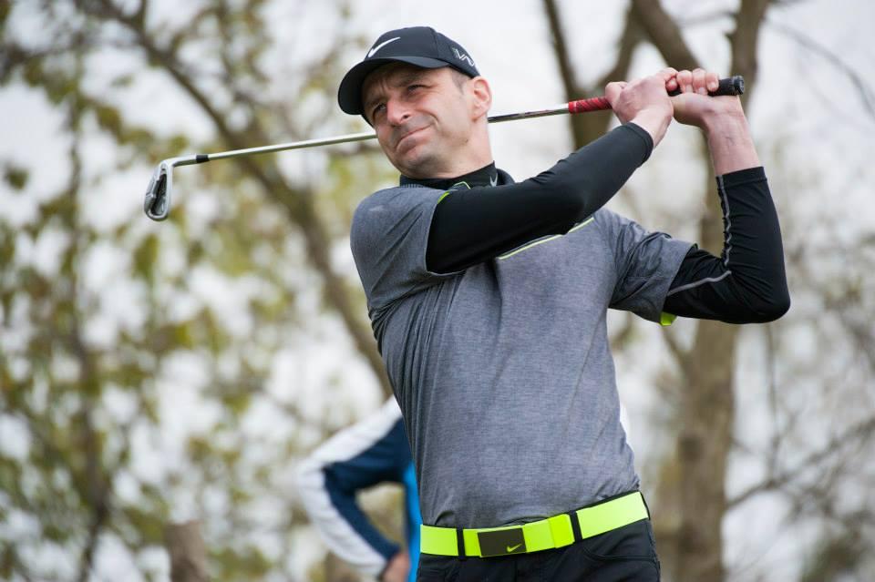 Ryszard Kozieras zaraża pasją do golfa