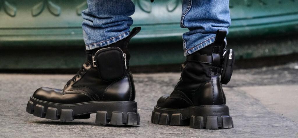 buty z kieszonką