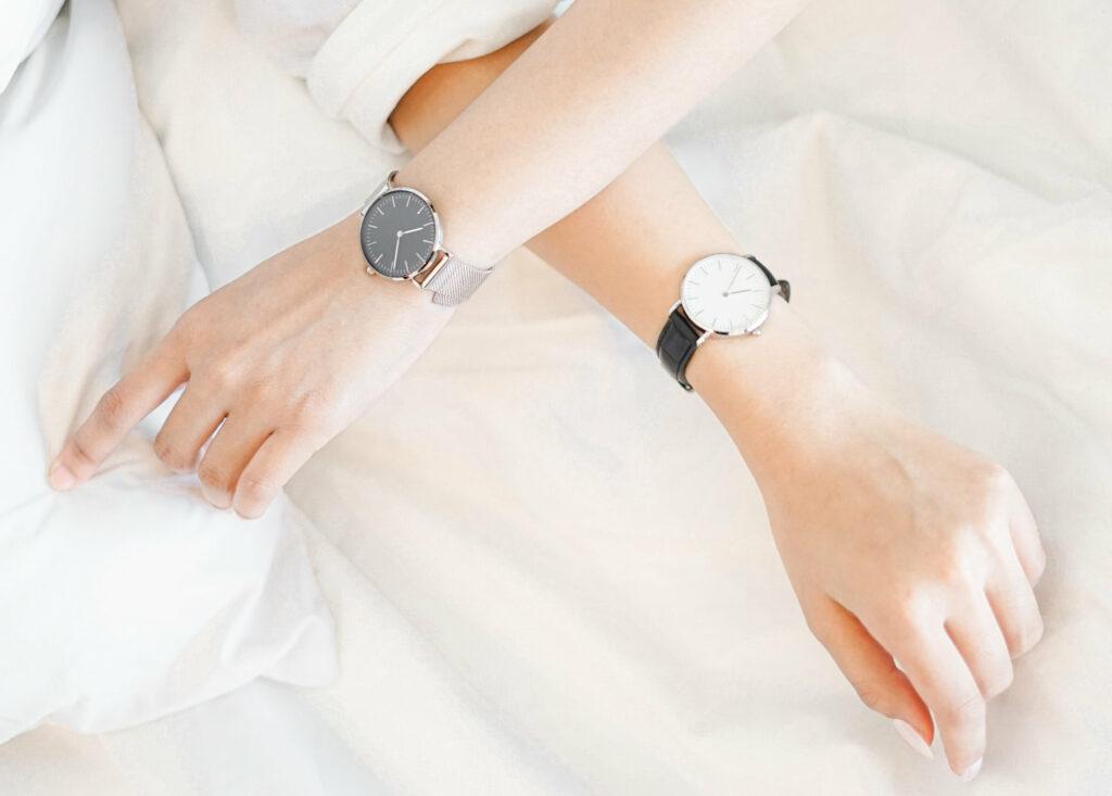 zegarki damski i męski